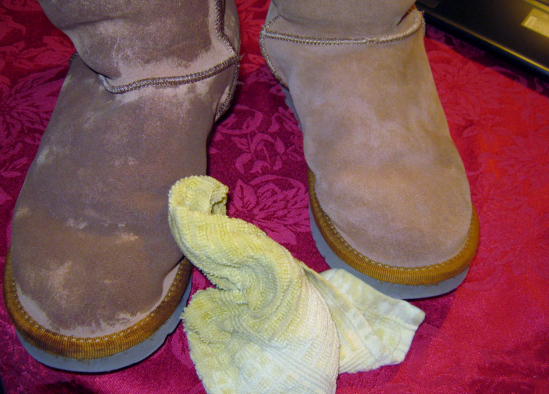 Cleaning Salt Stains from Ugg Boots