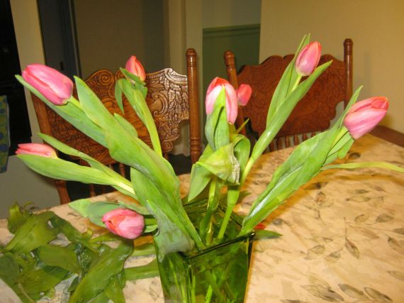 tulip arrangement 6