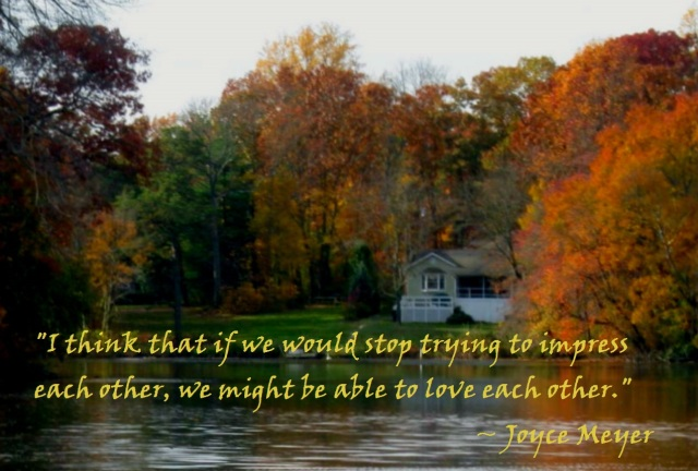 alcyon lake in autumn