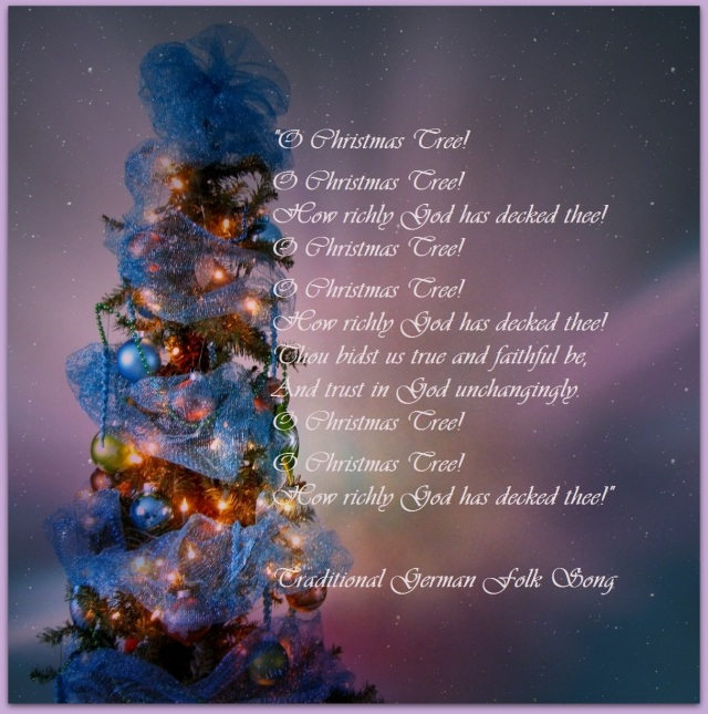 christmas tree blog post