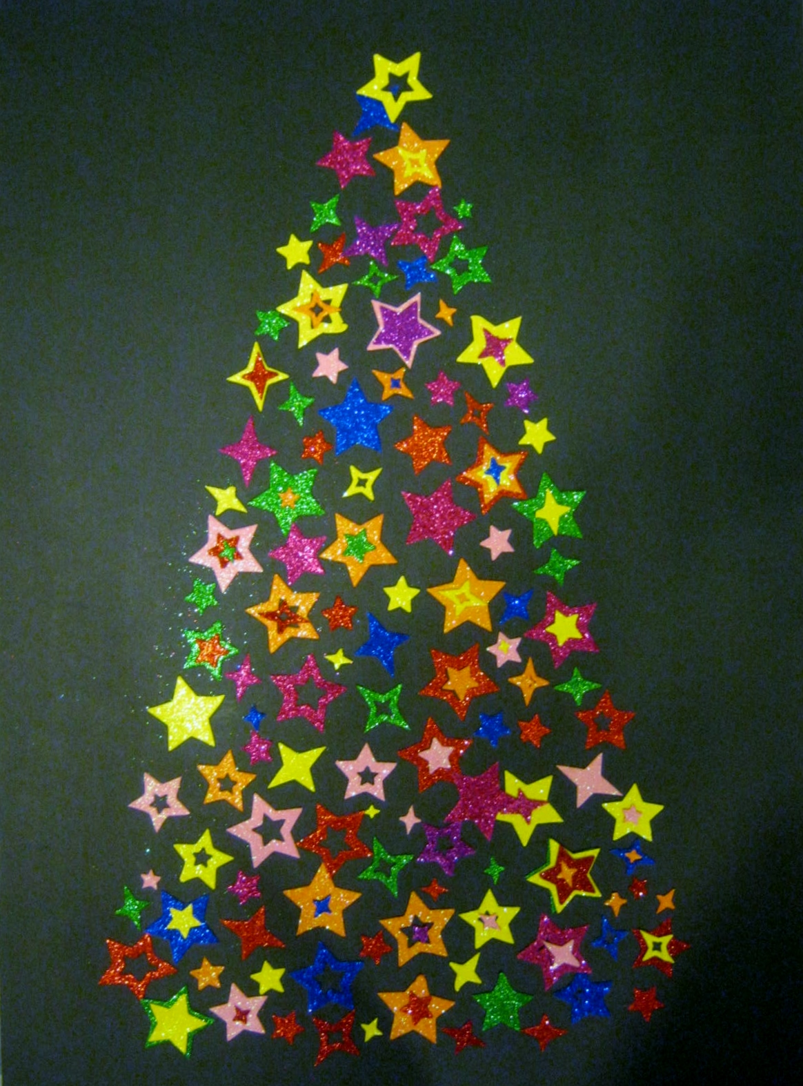 Sticker Christmas Tree Minding My P S With Q
