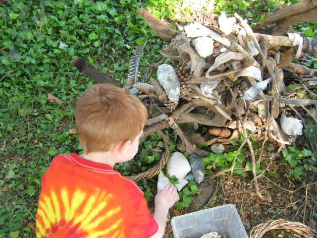 Building a Fairy House