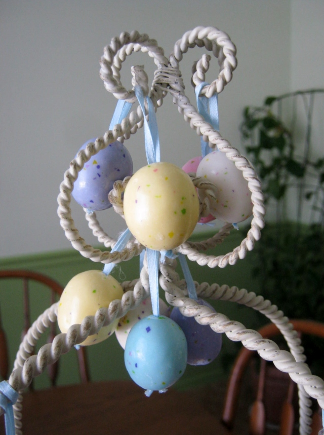 Malted Easter Eggs with Ribbons