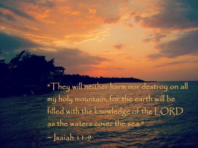 Isaiah 11:9