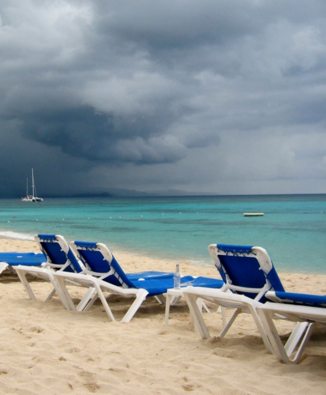 Storm Clouds on a Sunny Day, Montego Bay, Jamaica