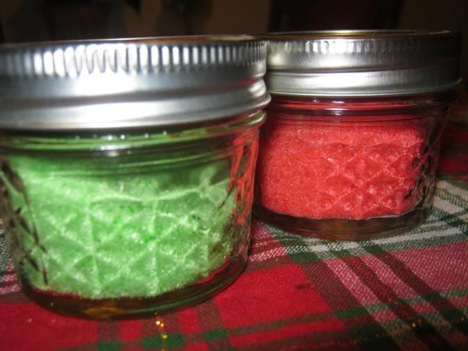 Pots & Pans – Creating Rainbows/Sanding Sugars