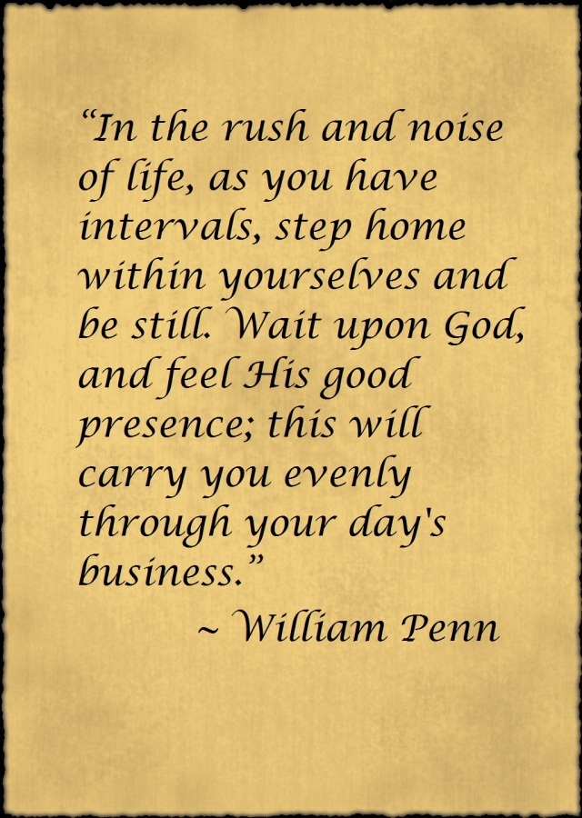 William Penn Quote
