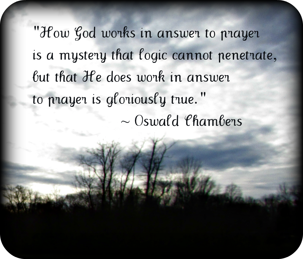Quote – Prayer/Chambers – MINDING MY P\'S WITH Q